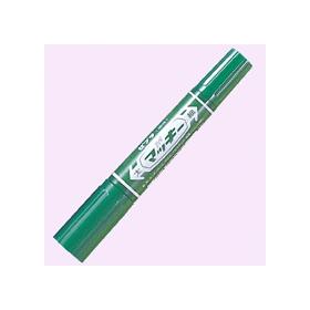 油性ペン ハイマッキー(太・細両用) 緑 341231
