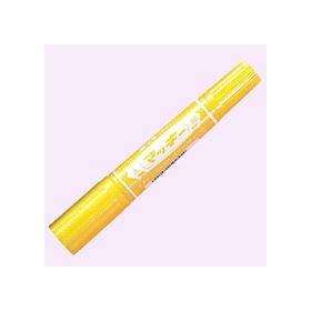 油性ペン ハイマッキー(太・細両用) 黄 341226