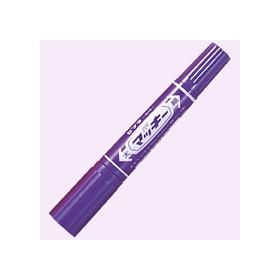 油性ペン ハイマッキー(太・細両用) 紫 341229
