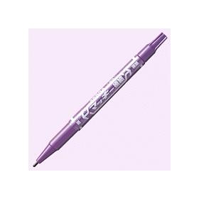 油性ペン マッキー極細(細・極細両用) 紫 341240