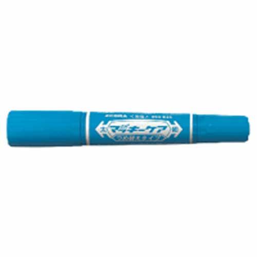 油性ペン ハイマッキーケア詰替タイプ(太・細両用) ライトブルー 240152