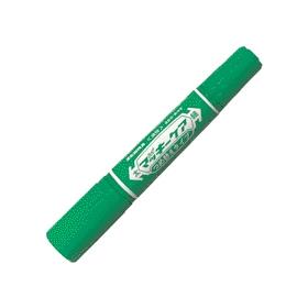油性ペン ハイマッキーケア詰替タイプ(太・細両用) 緑 343555