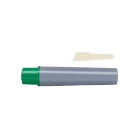 油性ペン ハイマッキーケア(太・細両用)詰替インク 緑 343564