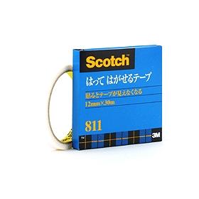 スコッチ(R)はってはがせるテープ 大巻 811−3−12 322425