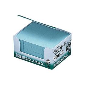 ポスト・イット再生紙エコノパックブルー 5001−B 335130