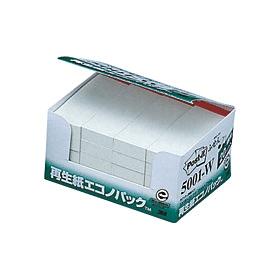 ポスト・イット再生紙エコノパックホワイト 5001−W 335131