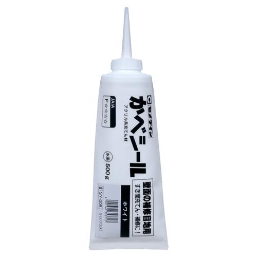 セメダイン(Cemedine)  カベシール ホワイト 500g