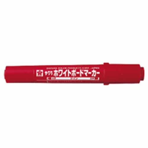 ホワイトボードマーカーツイン WBK−T 赤 270171