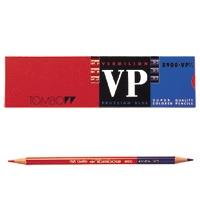 トンボ鉛筆 赤青鉛筆8900VP7/3 朱/藍 12本入 344150