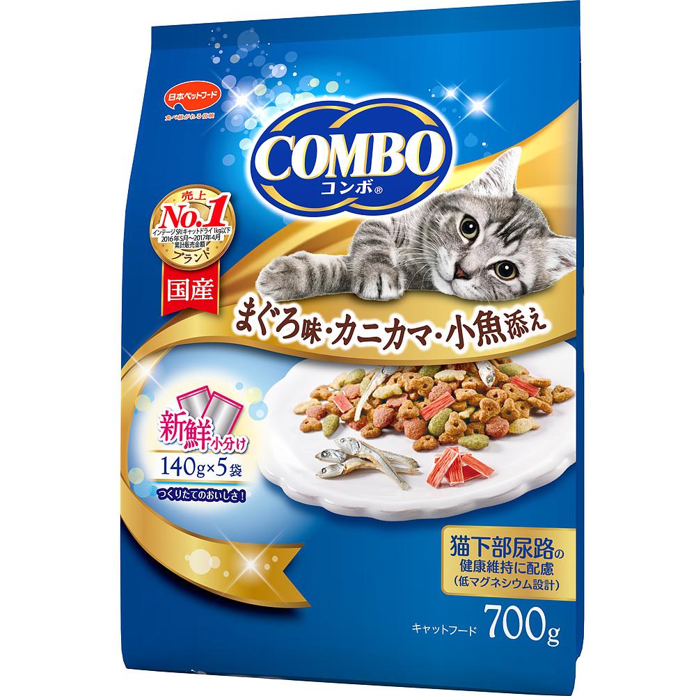 ミオコンボ まぐろ味・カニカマ・小魚添え 700g