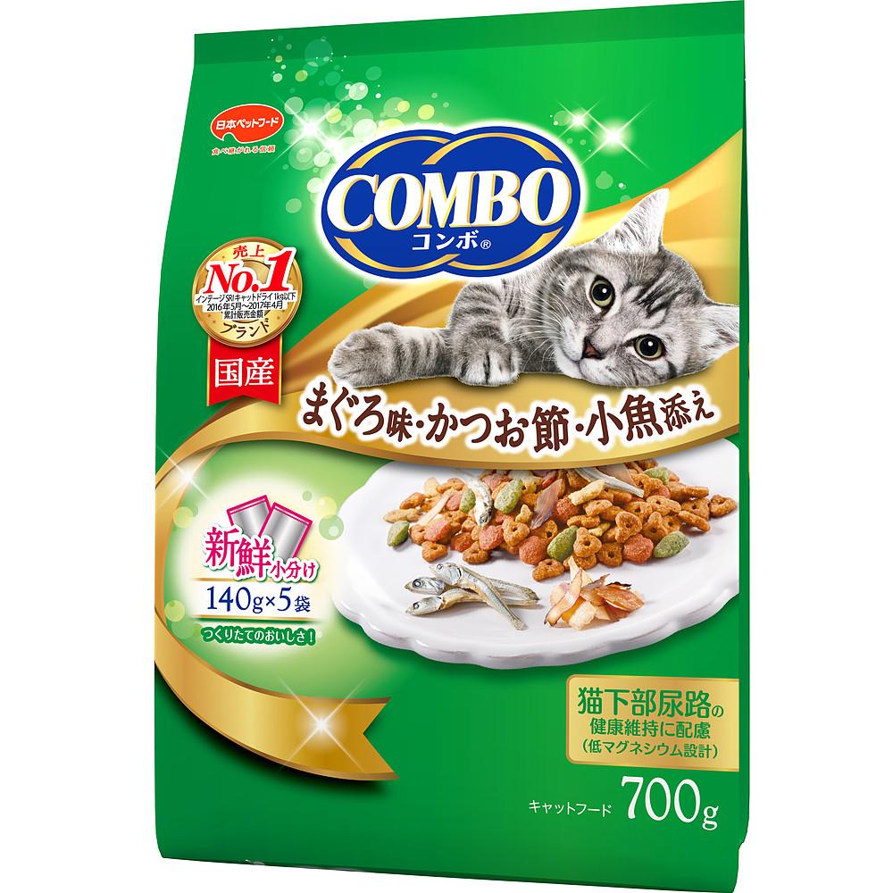 ミオコンボ まぐろ味・かつおぶし・小魚添え 700g