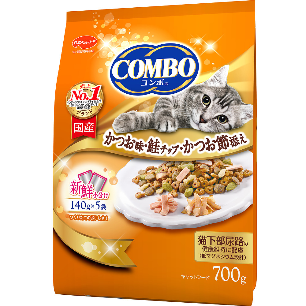 ミオコンボ かつお味・鮭チップ・かつおぶし添え 700g ×12個セット
