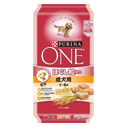 ピュリナワンドッグ ほぐし粒成犬用チキン 4.2kg