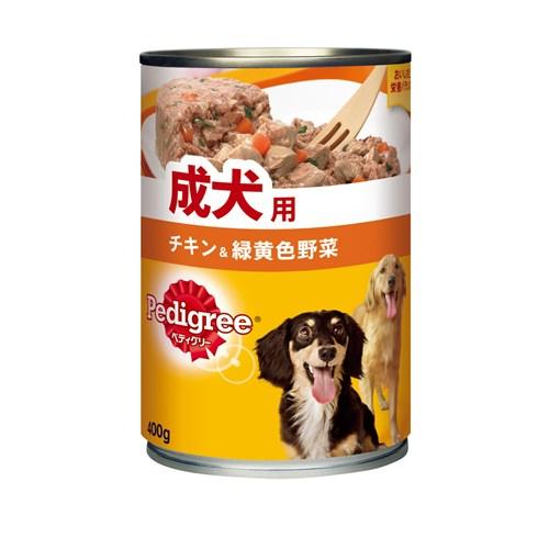 ぺディグリー 成犬用 チキン&緑黄色野菜400g