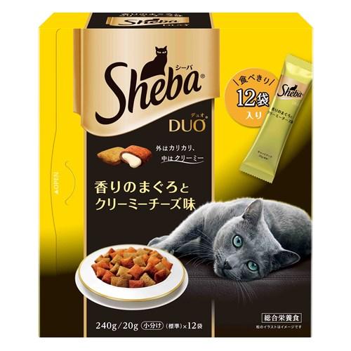 シーバデュオ 香りのまぐろとクリーミーチーズ味 240g