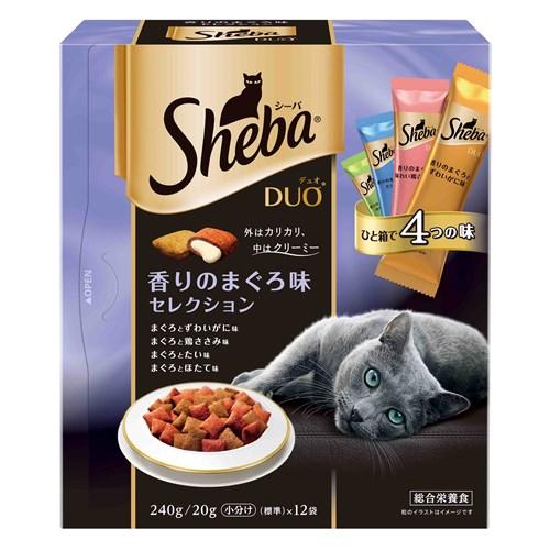 シーバデュオ 香りのまぐろ味セレクション 240g