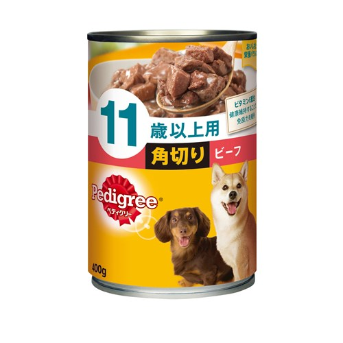 ☆ ペティグリー缶 11歳以上用 角切り ビーフ