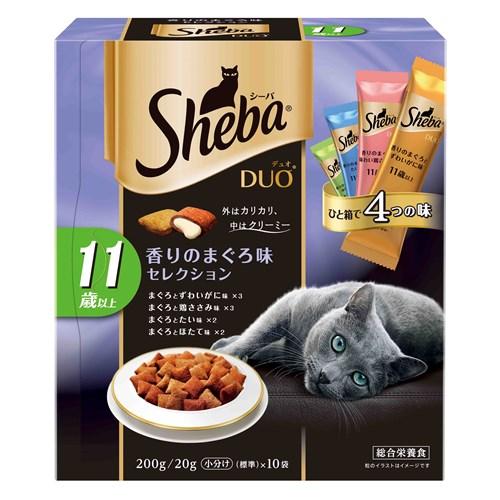 シーバデュオ 11歳以上 香りのまぐろ味セレクション 200g