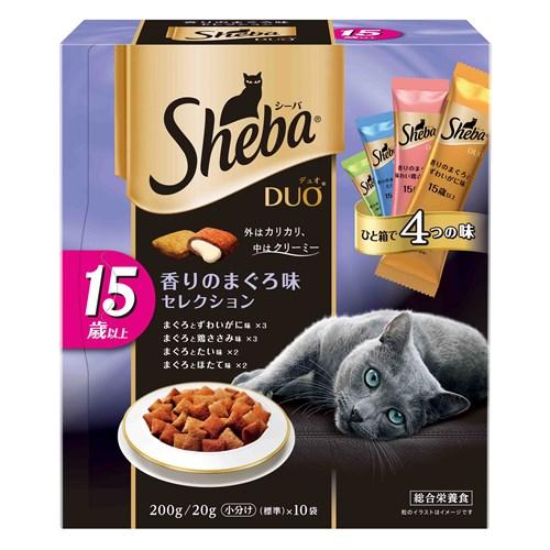 シーバデュオ 15歳以上 香りのまぐろ味セレクション 200g