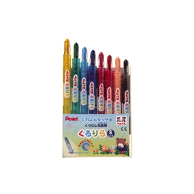 くりだし色鉛筆 くるりら 8色 GTW−8 8本入 343958