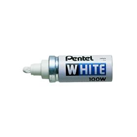 ぺんてるホワイト太字 筆記線幅3mm X100−WD