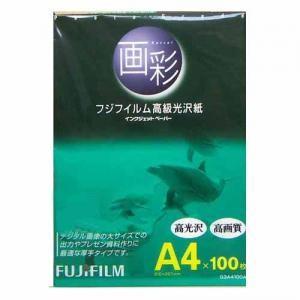 フジフィルム インクジェットペーパー画彩 G3A4 100枚(100A)