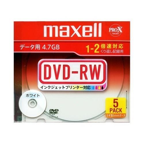 データ用DVD−RW DRW47PWBS1P5SA