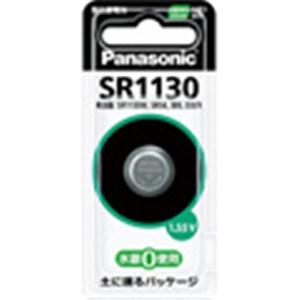 パナソニック(Panasonic) 酸化銀電池 SR1130P 電卓・時計用