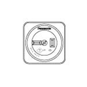 パナソニック(Panasonic) 露出コンセント(2P)ブラック WK1220B