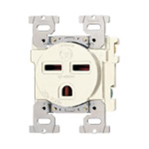 パナソニック(Panasonic) 埋込コンセント(接地2P)ミルキーホワイト WF3630W