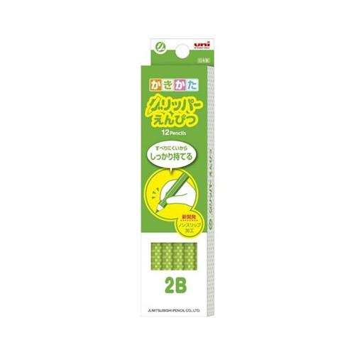 グリッパー鉛筆 緑2B