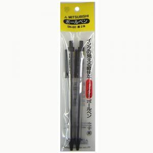 三菱鉛筆 ボールペンSN80黒 2本