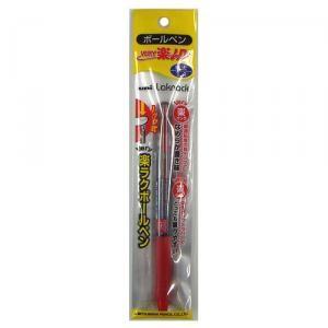 三菱鉛筆 ユニ ベリー楽ノック1P 赤 極太1.4mm SN−100
