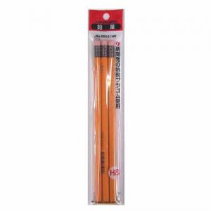 三菱鉛筆 ゴム付鉛筆HB 3P