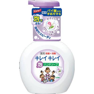 キレイキレイ 薬用泡ハンドソープ フローラルソープの香り ポンプ250ml