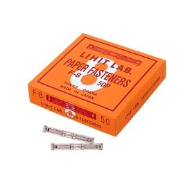 ペーパーファスナー 真鍮 足長37 穴間隔80 50本 321036