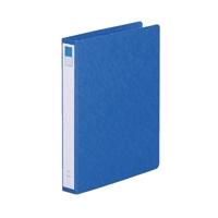 リングファイル紙製B5縦2穴 背幅35 200枚収容 藍 300842