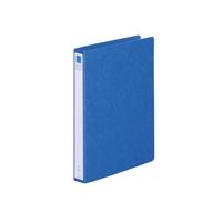 リングファイル紙製A4縦2穴 背幅35 200枚収容 藍 300178