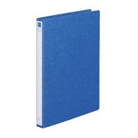 リングファイル紙製B4縦2穴 背幅35 200枚収容 藍 300841
