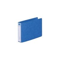 リングファイル紙製B6横2穴 背幅35 200枚収容 藍 300848