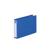 リングファイル紙製A5横2穴 背幅35 200枚収容 藍 300845