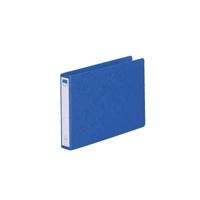 リングファイル紙製B5横2穴 背幅35 200枚収容 藍 300847