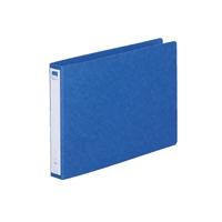 リングファイル紙製A4横2穴 背幅35 200枚収容 藍 300844