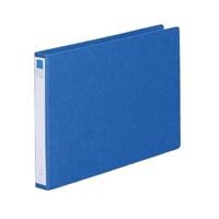 リングファイル紙製B4横2穴 背幅35 200枚収容 藍 300846