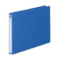 リングファイル紙製A3横2穴 背幅35 200枚収容 藍 300843