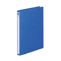 リングファイル紙製A4縦2穴 背幅27 150枚収容 藍 300177