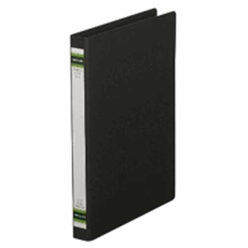 スプリングファイルA4S 黒 1冊 204896