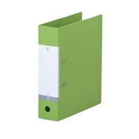 リクエスト・D型リングファイルA4縦2穴 650枚収容 黄緑 300418