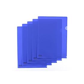 カラークリアーホルダー 1枚 A4 F−78 藍