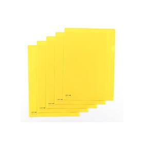 カラークリアーホルダー 1枚 A4 F−78 黄